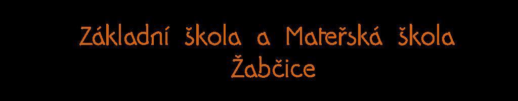 Základní škola a Mateřská škola Žabčice Logo