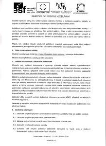 Zadávací dokumentace, str.3